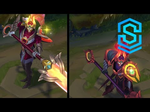 Cosmic Defender Xin Zhao Chroma Skins
