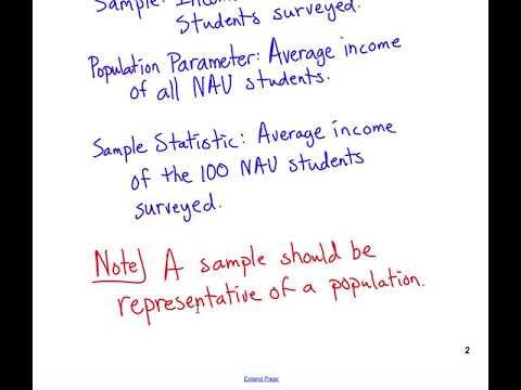 Statistical Basics
