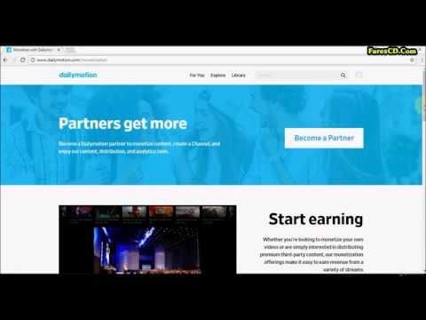 1  How To Become A Partner Of Dailymotion And Start Creating Your Channel New