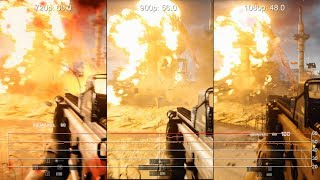 Radeon R7 260X Battlefield 4: 720p vs. 900p vs. 1080p Frame-Rate Tests