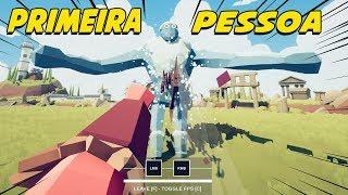 NOVOS SECRETOS EM PRIMEIRA PESSOA - Totally Accurate Battle Simulator TABS