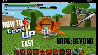 [046] HOW TO LEVEL UP FAST IN NRPG | NRPG: BEYOND ( ROBLOX )