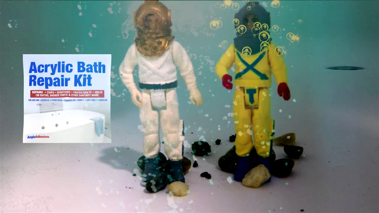 Acrylic Bath Repair Kit | Cracked Bath Repair Kit | Anglo