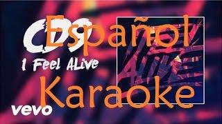cd9 i feel alive espaol karaoke version