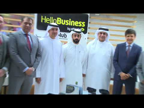 Etisalat Hello Business Hub Opening