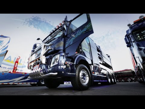 "Volvo Trucks - One of the coolest vacuum trucks you will ever see - ""Welcome to my cab - light"""