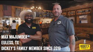 Testimonial Max Majumder - Owner Testimonial - Dickey's Barbecue Pit
