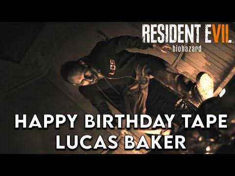 Resident Evil 7: Biohazard (RE7) - Happy Birthday Puzzle - Lucas Baker Tape |