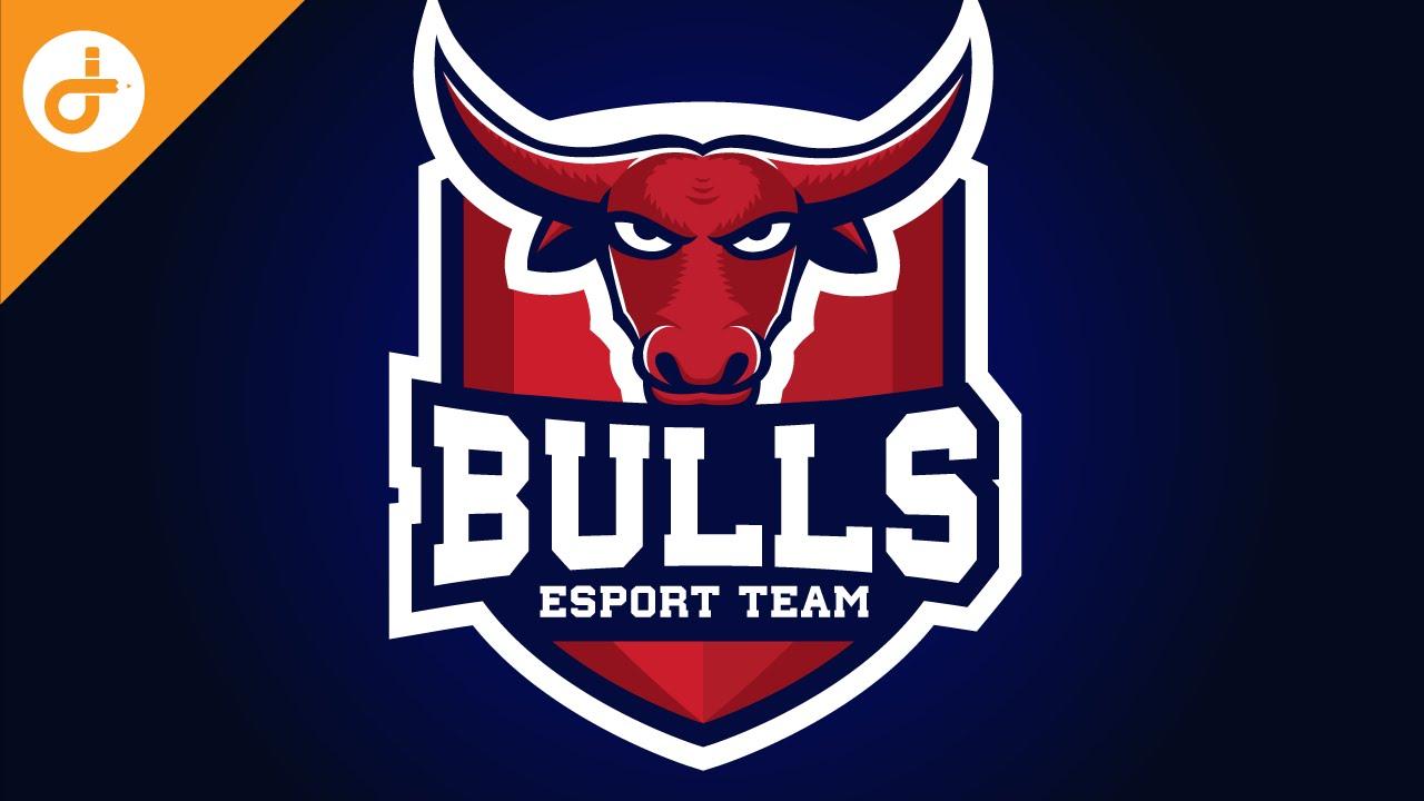 Adobe Illustrator CC Tutorial: Design E Sports/Sports Logo for ...
