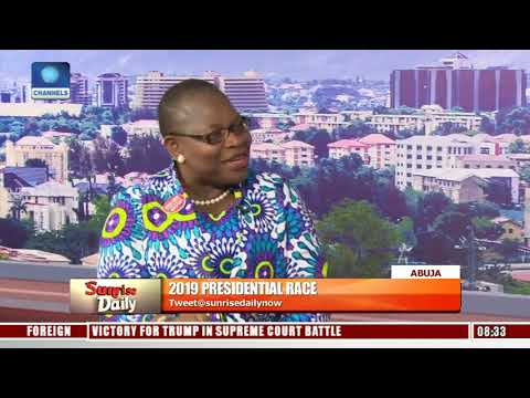 2019: We're Fighting For The Soul Of Nigeria - Ezekwesili Pt.1 |Sunrise Daily|