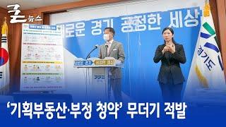 '기획부동산·부정 청약' 무더기 적발