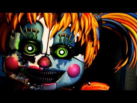 NEW ANIMATRONIC SCRAP BABY ATTACKS! || Five Nights at Freddys 6 (NIGHT 4)