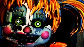 NEW ANIMATRONIC SCRAP BABY ATTACKS! || Five Nights at Freddys 6 (NIGHT 4)