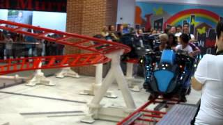 Lucia Prajisteanu - Britta Trading - Roller coaster indoor Zorky's Planet in AFI Palace Cotroceni