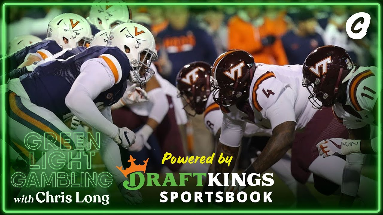 NFL Week 14 Gambling Picks. UVA vs Virginia Tech | Chalk Media