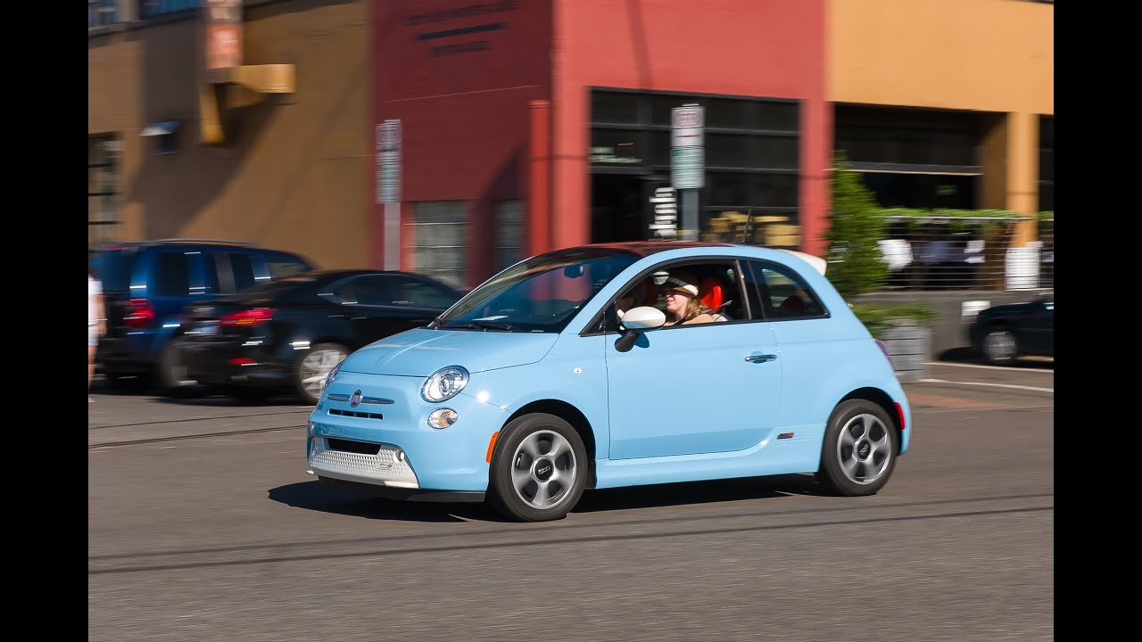 2015 fiat 500e review test drive youtube. Black Bedroom Furniture Sets. Home Design Ideas