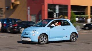 2015 Fiat 500E - Review & Test Drive