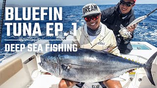 California Bluefin Tuna Fishing with Oliver Ngy and Cobi Pellerito (2019) - Episode 1