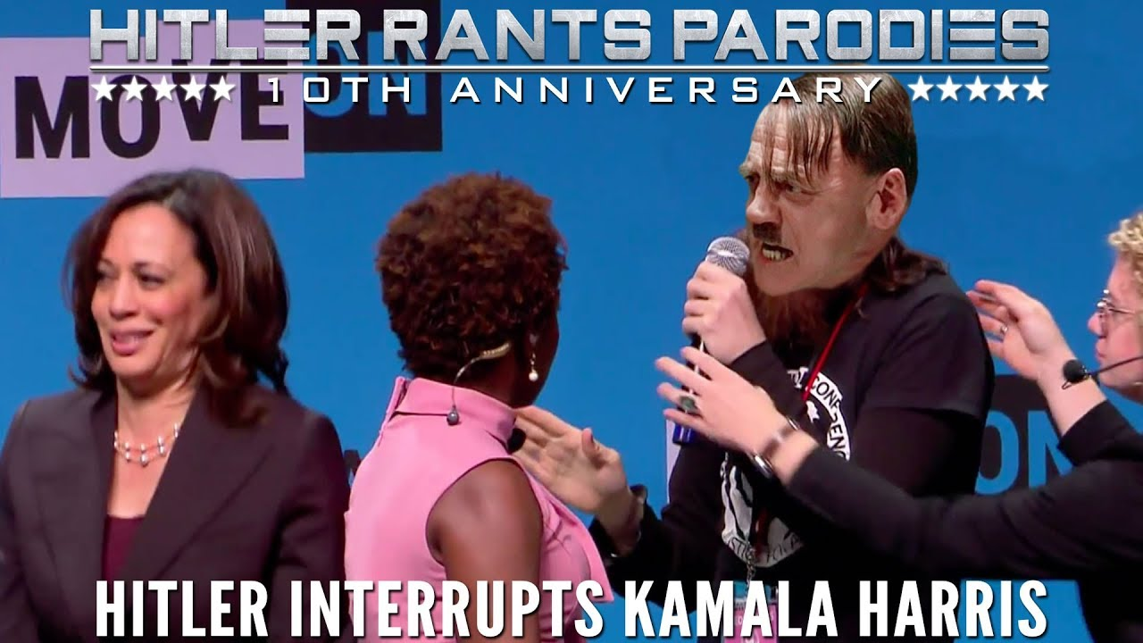 Hitler interrupts Kamala Harris