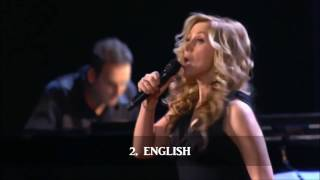 Lara Fabian singing in 10 languages!