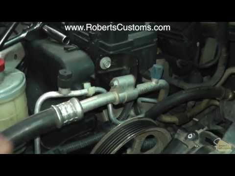 Power Steering Pump Install 2005 Honda Odyssey, Fort Worth TX DFW Honda Dealer Repair