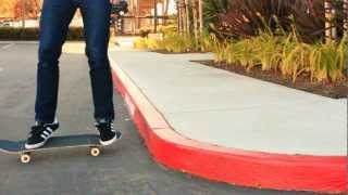 HOW TO RIDE OFF A CURB THE EASIEST WAY TUTORIAL