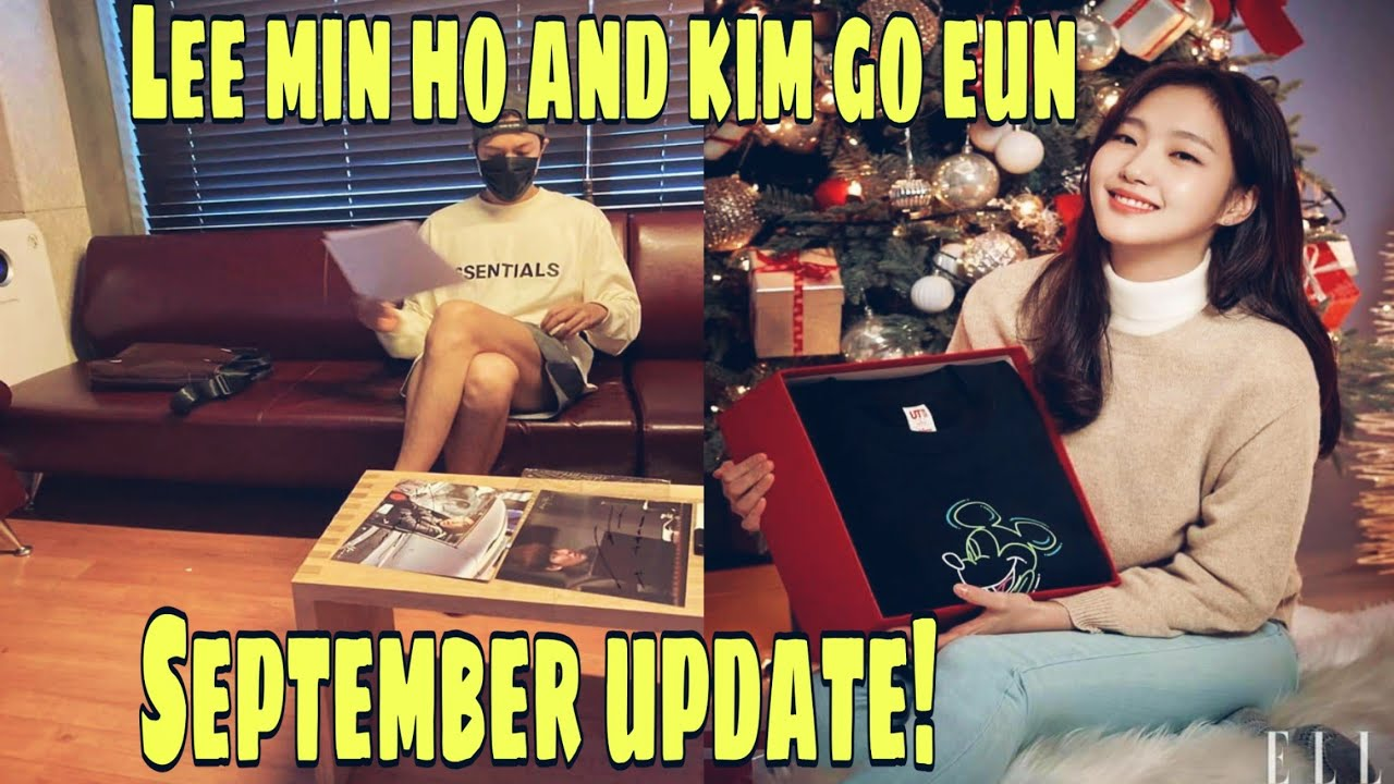 lee min ho and kim go eun september