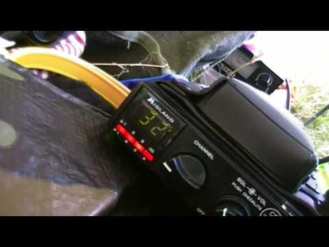 CB Radio - CTX Flat Holm Island Activation 21st April 2013