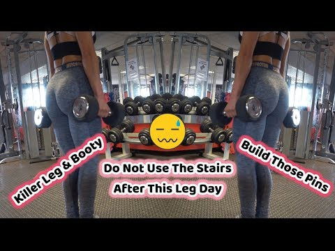 Do Not Use Stairs After This Leg Day | Ultimate Leg and Glute Workout | GWM - 26