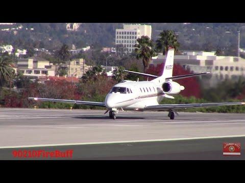 Plane Spotting at Santa Monica Airport