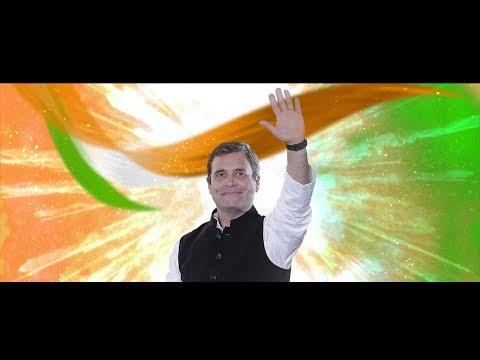 Lok Sabha Election 2019   Congress President Rahul Gandhi Wayanad Campaign Song   Jananayaka