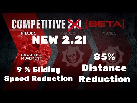 Gears of War 4: NEW 2.2 UPDATE | 85% Distance Reduction | 9% Sliding Speed Reduction