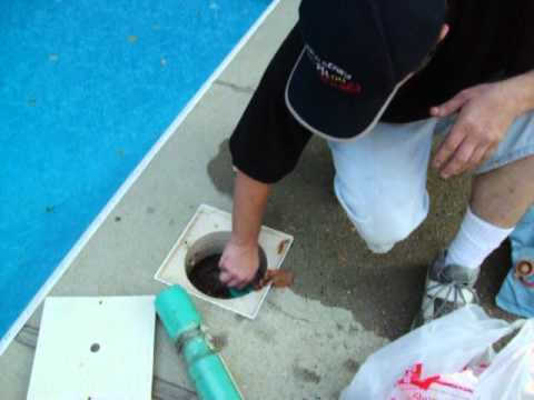 How To Install A Pool Skimmer Gizzmo Youtube