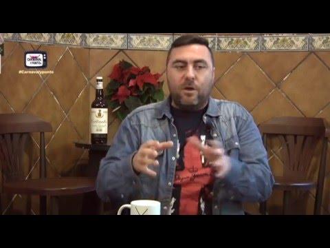 Carnaval y Punto Tv. Entrevista a Julio Álvarez. 10-12-2015.