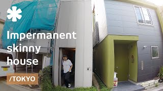 Tokyo 39 s impermanent skinny house made to age well with owners