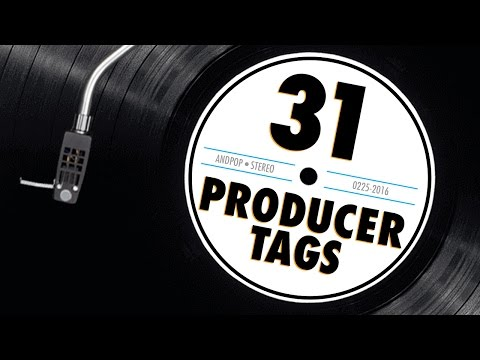 31 Hip Hop Producer Tags Compilation