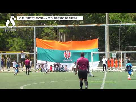 C.D. ESTUDIANTIL vs BARRIO BRASILIA (partido)