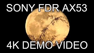 SONY FDR AX53 4K DEMO VIDEO 1