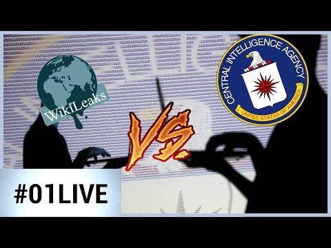 01LIVE HEBDO #133 - Ce qu'il faut retenir des fuites Wikileaks sur la CIA