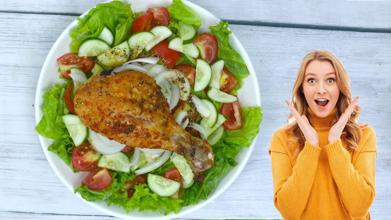 Healthy Salad Recipes For Dinner (Trailer)