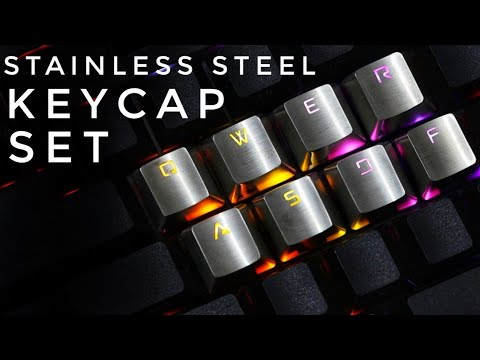 Stainless Steel Mechanical Keycaps - Cherry MX BACK LIT