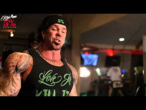 DUMBBELL ROWS - DOIN THIS SHIT RIGHT - Rich Piana