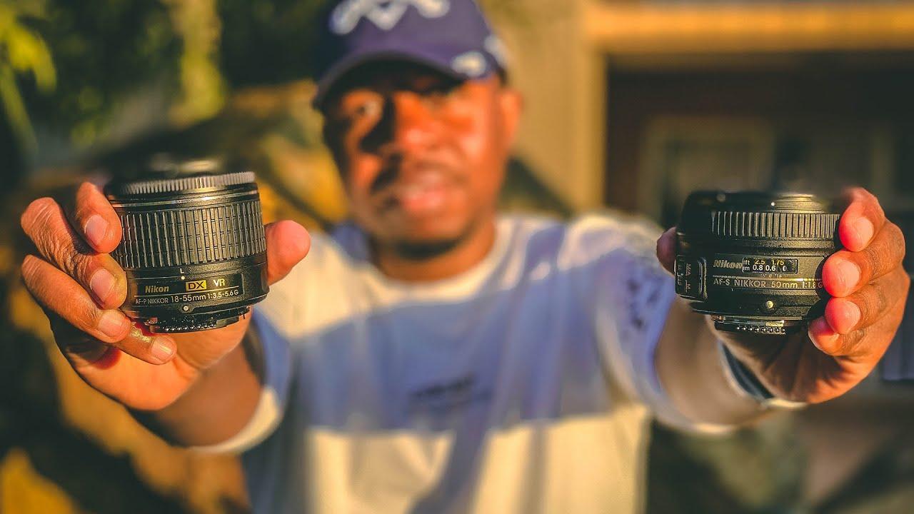 Nikon 18-55 MM Kit Lens vs 50 MM Prime Lens