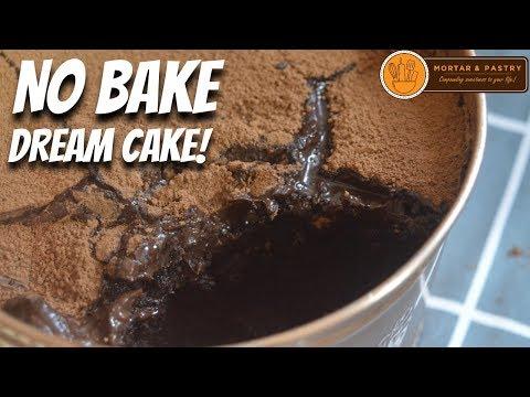NO BAKE CHOCOLATE DREAM CAKE!   How to Make Trending Dream Cake   Ep. 43   Mortar and Pastry