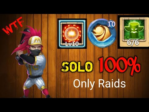 BEST Ronin | 10/10 Scorch With 10 Insignia Sacred Light | Castle Clash