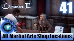 Shenmue 3 - Ask Around at a Martial Arts Shop - All Martial Arts Shop locations Walkthrough Part 41