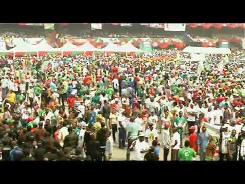 GOODLUCK GOODWORK PRESIDENTIAL CAMPAIGN -        LAGOS