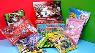 Opening Kinder Surprise Eggs Blind Bags Disney Transformers Cars 2 Ben 10 Lego Littlest PetShop Thumbnail