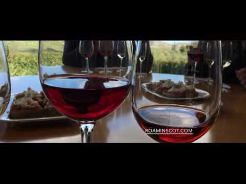 Getting Drunk during Crete Boutari Winery Tour by Aerial Drone DJI Spark