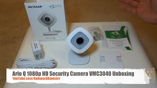 Arlo Q 1080p HD Security Camera with Audio VMC3040 Unboxing